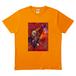 「生きよ、」Tシャツ 橙