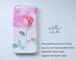[受注制作] 特注仕様 iPhone Android Case 花と水彩画のスマホケース