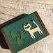 小さな猫の木箱 (森の散歩)
