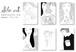 【バレンタイン&ホワイトデー スペシャル♥】ポストカードセット 「アムール」全6枚 / Sho.art Postcard Set [Amour]