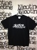 NICOTINE x HURLEY / DOUBLE NAME T-SHIRT