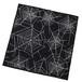 RUDE GALLERY BLACK REBEL SPIDER NET BANDANA