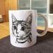 シュレ猫さんマグカップ