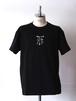 FUJITOSKATEBOARDING Print T-Shirt  Black (Mark ver.)