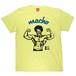 【SAKE Tシャツ】MACHO TEE / ライトイエロー