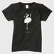 白猫Tシャツ(レディース)