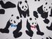 【新品】パンダ帯☆こっそりネクタイ〆ています【レターパックOK】