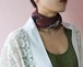 Yves Saint Laurent round×square scarf