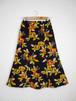 レトロ小紋の着物スカート Kimono Skirt  WS-006/S