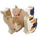 木製置物「猫3匹」