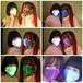 光るマスク【LED発光】七色に輝くレインボーマスク