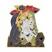 "Real Sic""Picasso Weeping Woman – Cubist, Limited Edition Art Pin"""
