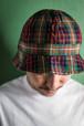 PLAID CHECK HAT