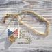 Flag Necklace ~Aamericanflag&Smile~
