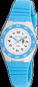 [キッズ腕時計]ライト搭載 10気圧防水 ブルー CAC-75-M03