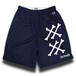 """BONE"" NAVY [MESH SHORTS]"