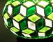 ファンタジック・グリーン スタンド型 魔法のランプ  ランプ 照明 インテリア 雑貨 モザイク アート ライト