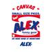 """"""" ALEX'S CANVAS NO.1 """""""