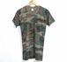 1980's USA ウッドランドカモポケットTシャツ 表記(M)