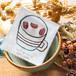 コーヒー豆の小さなマグネット