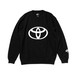 "TOYOTA ""EMBLEM"" Summer Sweat Shirt - Black"