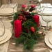 NATALE Red Tablescape