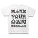 Tシャツ セミオーダーメイド:ホワイト