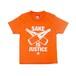 【KIDS SAKE Tシャツ】SAKE IS JUSTICE / オレンジ