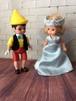 ピノキオ&ウェンディドール Pinocchio Boy Doll & Wendy Doll as Blue Fairy  2004年製 マクドナルド×マダムアレキサンダードール