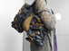 イケメンフリルの裂き織りバッグ『Orina』