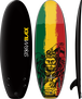 Storm Blade 58in Mini Board / Black x Rasta