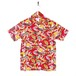 Mountain Mens / Open Aloha shirt / Waikiki surfers Red