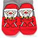 【小物】不規則韓国系プリント靴下25097545