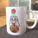 ニュートンと運動方程式 マグカップ