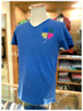 【 USUALIS 】         ウザリス  - Italy -       Vネック 半袖Tシャツ