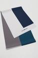 グラースオリジナル帯揚 4カラー グレー×ダーク ポリエステル100% セオα 通年