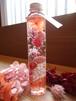 ハーバリウム ロングボトル 「ピンク・ピジェ」