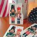 くるみ割り人形 B.Shackman Company クリスマスカード ギフトタグ メッセージカード 3枚組 グリーティングカード CD-004