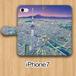 【受注生産】パノラマ「浅草・夜景」iPhone7用 手帳型ケース