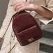 【小物】質感のいいファッション無地斜め掛けリュックサックバッグ22815014
