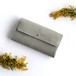 suare long wallet #stone gray/ スアレロングウォレット 長財布 #ストーングレー