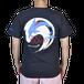 ジープ島オリジナルTシャツ イルカ紺・ホワイト