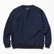 meanwhile Nylon Popper Shirt Navy