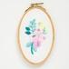 『ひだまりの花』刺繍枠キット