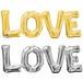 LOVEバルーン(ゴールドorシルバー)