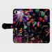 (iPhone8/7 サイズ)手帳タイプ:花火の宇宙(KAGAYA)