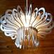「キノコ」木製ペンダントライト 照明 インテリア