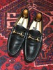 .GUCCI LEATHER HORSE BIT LOAFER MADE IN ITALY/グッチレザーホースビットローファー 2000000043388