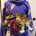 虎の刺繍モチーフ帯飾り 売り切れました。オーダー受付中