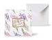 12種類のスクエアグリーティングカード 《Hyacinthus sisters ヒヤシンシーズ》
